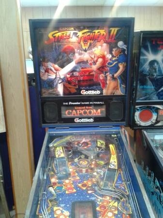 Picture of Street Fighter 2 Pinball