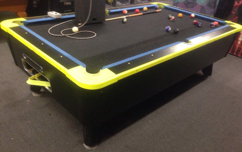 Picture of Dynamo Pool Table Coin Operated