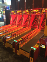 Picture of FIREBALL Skeeball