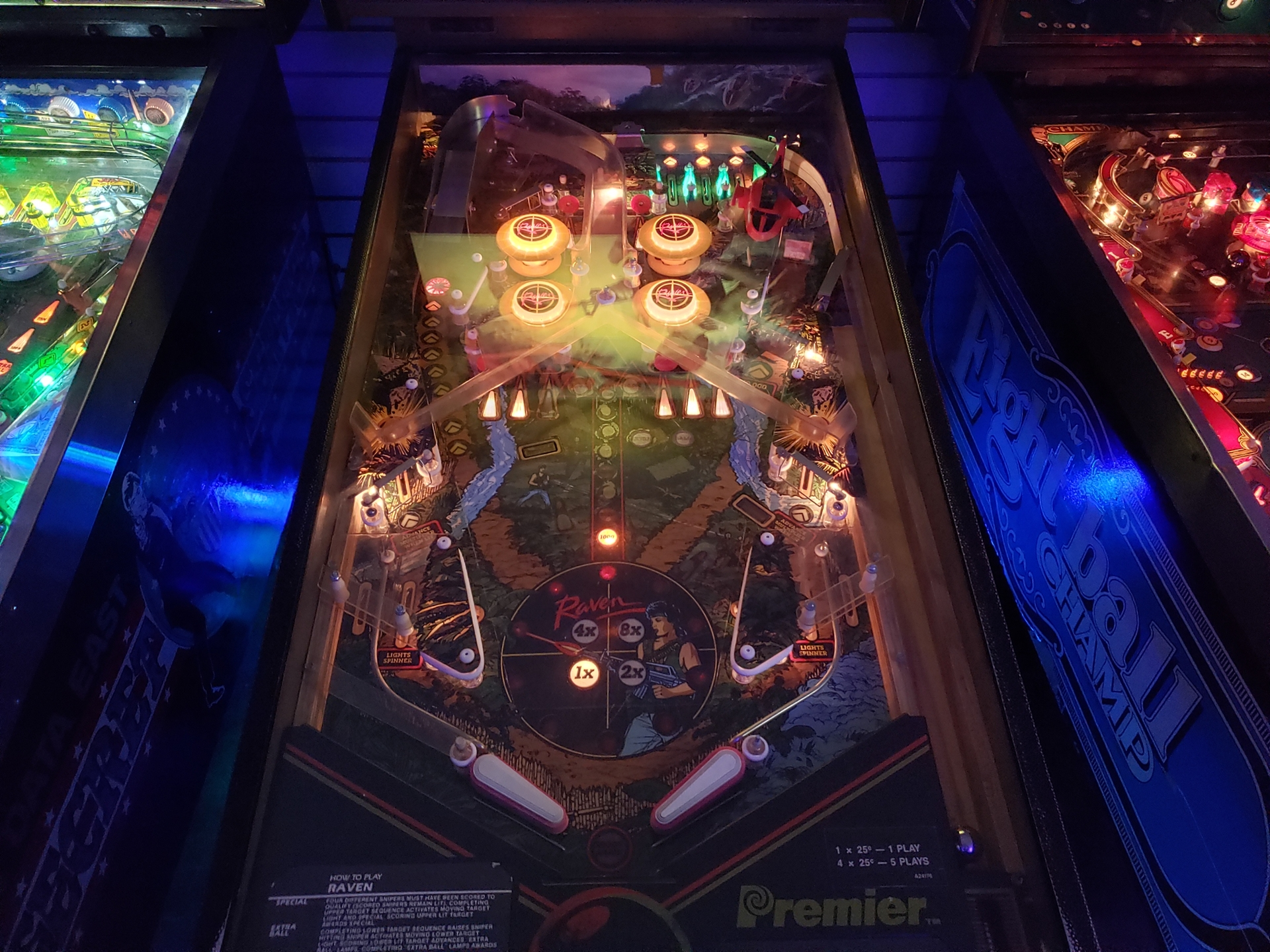Picture of Raven Pinball