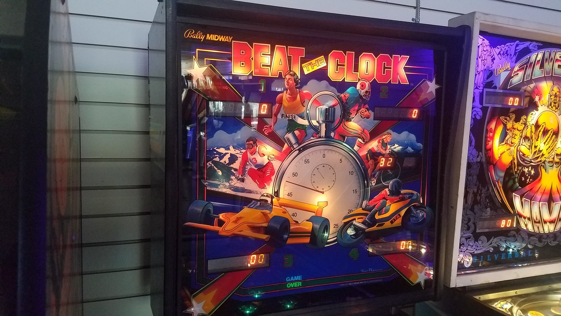 Picture of Beat the Clock Pinball
